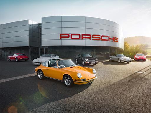 Möchten Sie unser Porsche Zentrum besuchen?