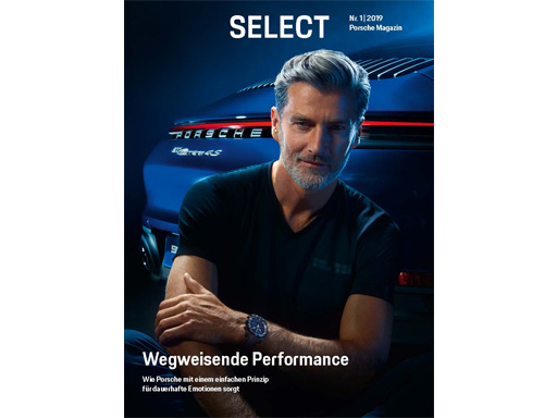 Porsche Driver's Selection Select Magazin Nr. 1/2019